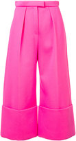 DELPOZO structured culotte trousers - women - Viscose - 34