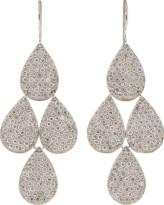 Irene Neuwirth Jewelry Pave Four-Drop Chandelier Earrings