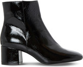 Dune Packham patent leather ankle boots