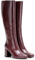 Saint Laurent Babies 70 leather knee-high boots