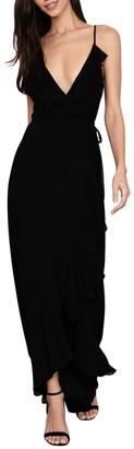 Yumi Kim Meadow Ruffled Sleeveless High/Low Maxi Dress