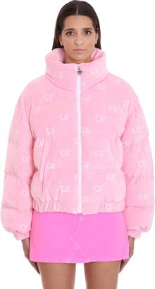 Chiara Ferragni Clothing In Rose-pink Chenille