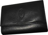 Cartier Black Leather Wallets