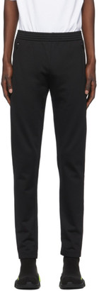 Balenciaga Black Slim Track Pants