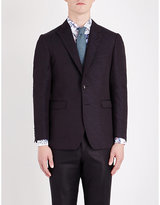 Etro Regular-fit Textured Silk Evening Jacket