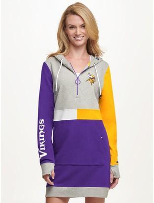 Tommy Hilfiger Minnesota Vikings Hoodie Dress