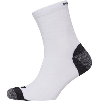 Pro Touch Unisex Cushioned Low Cut Running Socks White