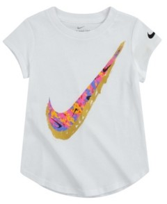 Nike Little Girls Short Sleeve Tee