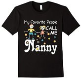 Special Tee Men's My Favorite People Call Me Nanny T-Shirt 2XL