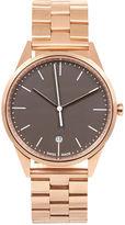 Uniform Wares Rose Gold Link Bracelet C36 Watch