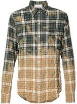 Faith Connexion checked shirt - men - Cotton/Spandex/Elastane - M