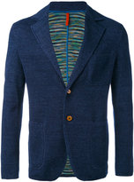 Missoni two button blazer - men - Cotton/Linen/Flax - 48