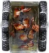 Sevan Biçakci Carved Butterfly Garden Ring