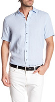 Report Collection Short Sleeve Textured Dobby Shirt