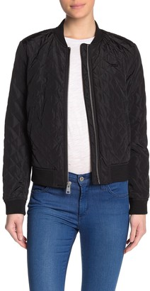 Levi's Quilted Solid Bomber Jacket