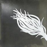 2Modern Beth Weintraub - Pavo Etched Metal Plate