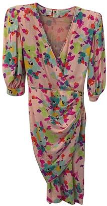 Ungaro Parallele Pink Silk Dress for Women Vintage