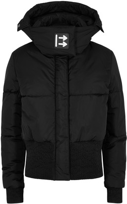 Off-White Black quilted shell jacket