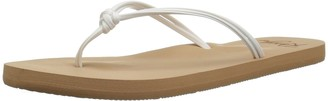 Roxy Girls' RG Lahaina Flip Flop Sandals Flat