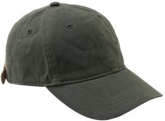 L.L. Bean Wool-Lined Waxed-Cotton Fowler's Cap