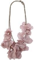 Lanvin flower necklace