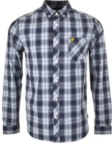 Lyle & Scott Check Shirt Navy