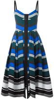 Fendi wavy print dress - women - Cotton/Silk - 40