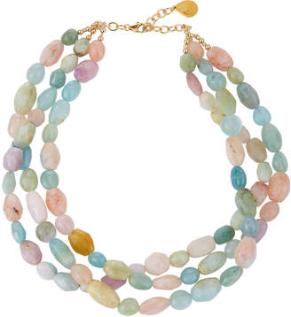 Devon Leigh Morganite Twist Necklace