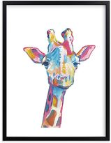 Pottery Barn Kids Mr. Giraffe Wall Art by Minted(R) 18x24
