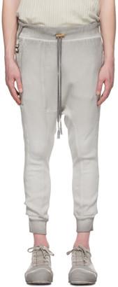 Boris Bidjan Saberi Grey Long John Lounge Pants
