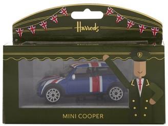 Harrods Union Jack Mini Cooper Model