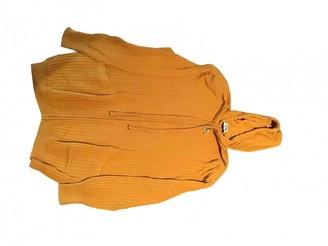 Celine Yellow Cotton Knitwear