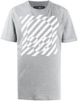 Hydrogen striped skull-print boxy T-shirt
