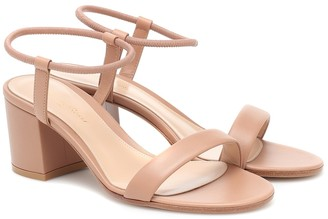 Gianvito Rossi Nikki 60 leather sandals