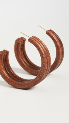 Cult Gaia Kaia Hoop Earrings