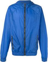 MSGM zipped lightweight jacket - men - Polyamide - 46