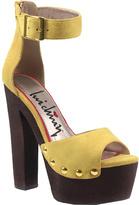 Luichiny Women's Buck Ley Ankle Strap Sandal
