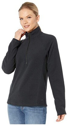 Marmot Rocklin 1/2 Zip (Black) Women's Coat