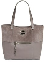 Alexander Wang Riot Suede & Leather Tote - Grey