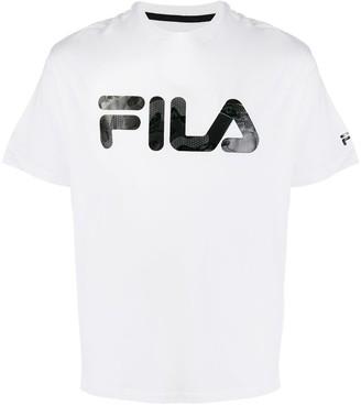 Fila textured logo T-shirt