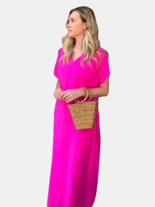 Anna Cate Erin Cinched Maxi Dress