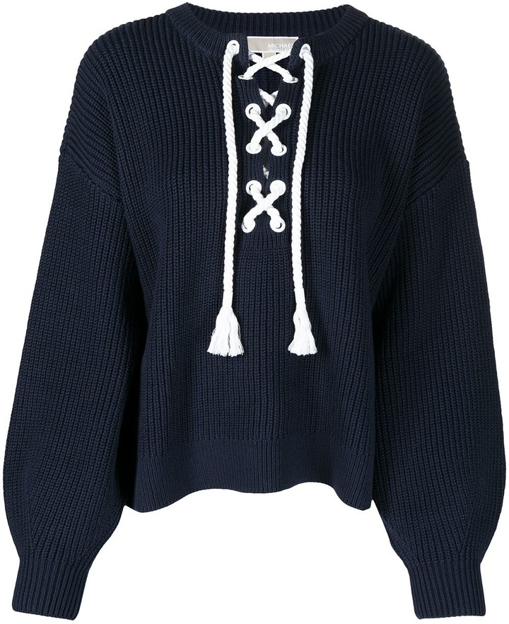 Americana Cotton Knit Cardigan Navy Blue with appliqu\u00e9d stars Women/'s Medium