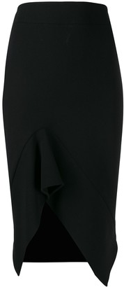 Tom Ford Asymmetric Pencil Skirt