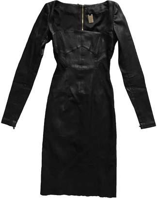 Thomas Wylde Black Leather Dress for Women