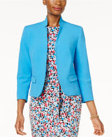 Nine West Stand-Collar Blazer