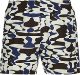 Sunlight Camouflage Print Swim Shorts