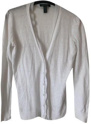 Lauren Ralph Lauren White Linen Knitwear for Women