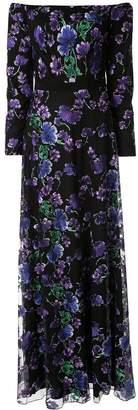 Tadashi Shoji Floral Evening Dress