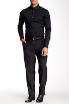 Louis Raphael Modern Fit Micro Tattersall Pant - 30-34\