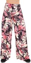 RM Fashions RM LADIES FLORAL PRINT PALAZZO TROUSERS WOMENS SUMMER WIDE LEG PANTS PLUS SIZES (2X-Large, )
